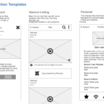 General Wireframes