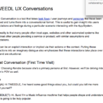 UX Dialogues