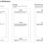 Basic Layout Wireframes